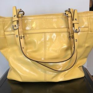 b331a7147937 Coach Bags - Beautiful vintage yellow leather coach purse